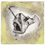 Deep Sea Anger. 2011. Intaglio
