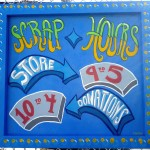 Sign for SCRAP