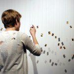 Inspecting Minutia (installation view)